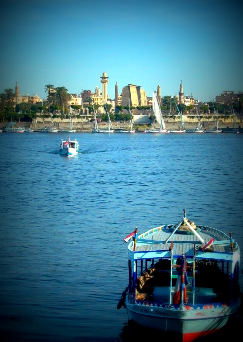 Ferry on the Nile in Luxor