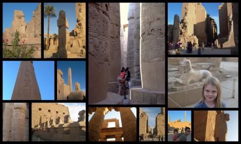 Karnak Collage